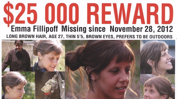 Fillipoff family offers reward to help find Emma