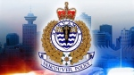 The logo for Vancouver police is pictured in this file photo.