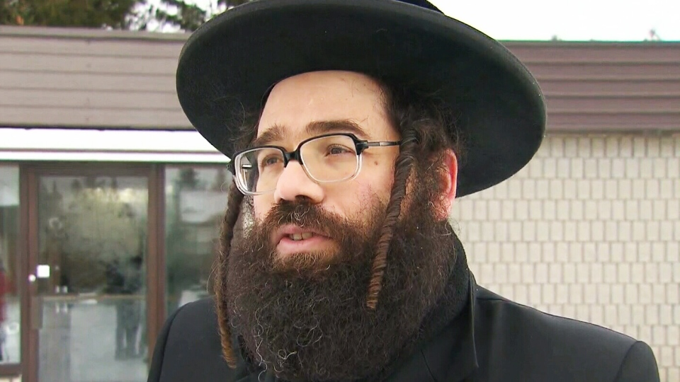 Uriel Goldman tells CTV News that the group is not the first to flee Quebec over education problems.