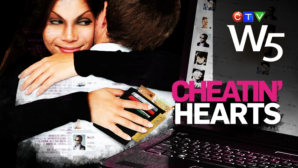 Seeking love online? Beware! W5's investigation finds conmen and schemers who use love as the lure (W5)