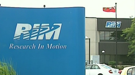 Research In Motion's Waterloo, Ont. campus.