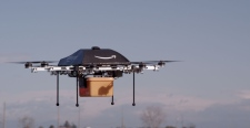 Amazon drones to deliver parcels