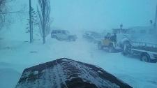 Blizzard hits Calgary