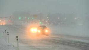 Edmonton winter storm