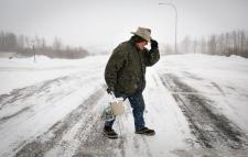 blizzard southern Alberta school closures