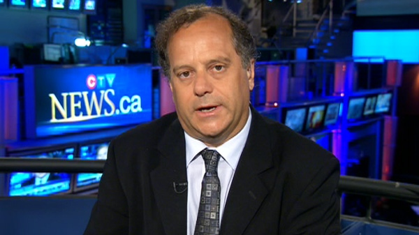 NDP President Brian Topp appears on CTV's Canada AM on Tuesday, July 26, 2011.
