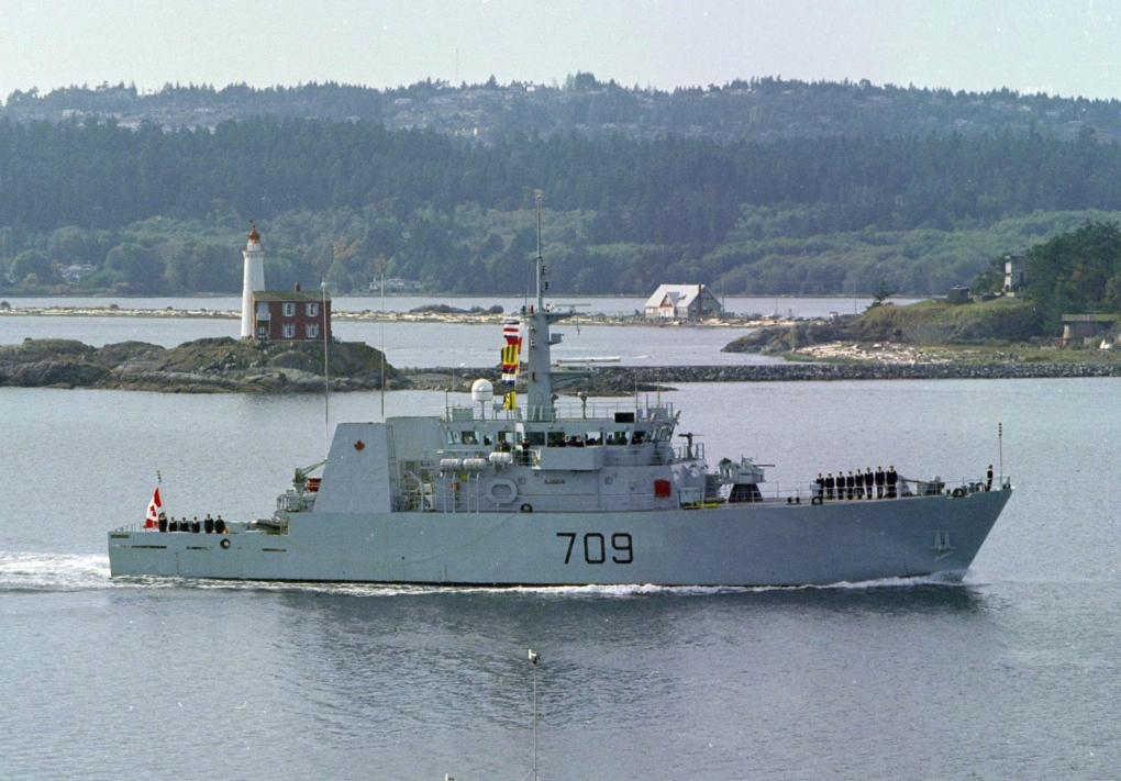 Canadian warship nears completion of $5M upgrade