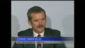 CTV Kitchener: Hadfield in Waterloo