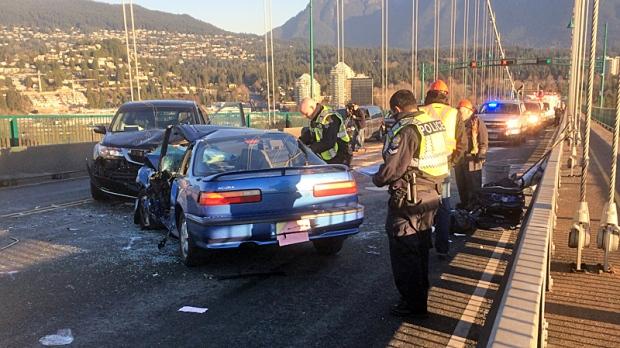 Honda London Ontario >> Driver charged in crash that shut down Lions Gate Bridge ...