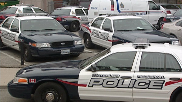 Const. Christopher Knox was suspended after an incident on duty with the Waterloo Regional Police Service North Division.