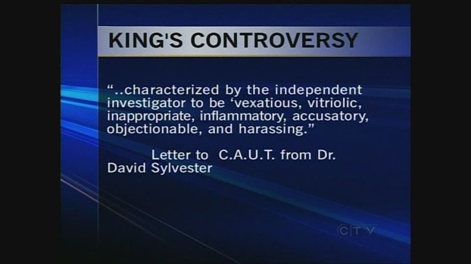 King's controversy