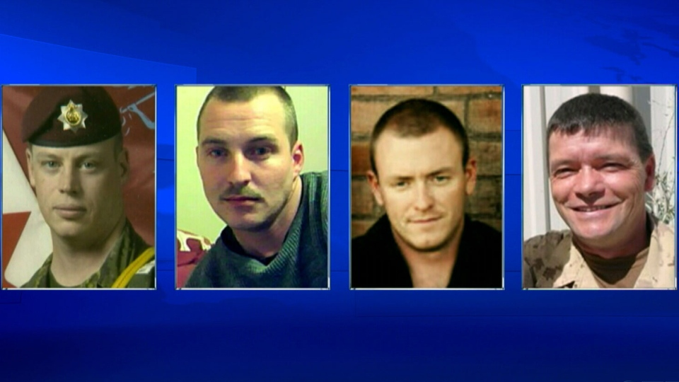 The apparent suicides of four Canadian soldiers raised questions about the services and care offered to troubled soldiers and veterans.