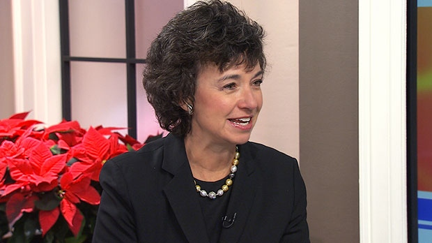 Pamela Jeffery, founder of the Women's Executive Network, speaks on Canada AM, Wednesday, Dec. 4, 2013.