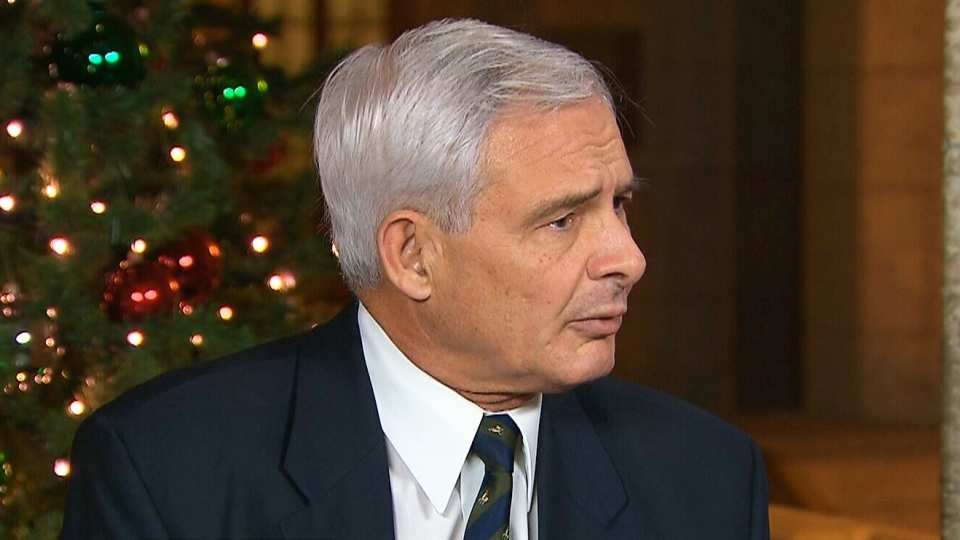 Canadian Forces Ombudsman Pierre Daigle appears on CTV's Power Play in Ottawa on Wednesday, Dec. 4, 2013.