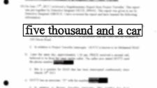 Wiretaps allege Mayor Ford money