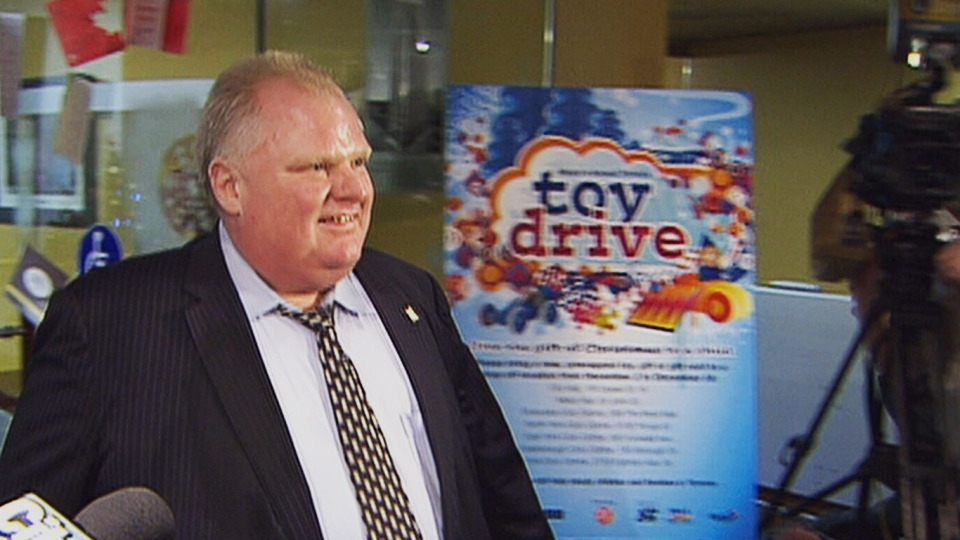 Mayor Ford does not comment on wiretap