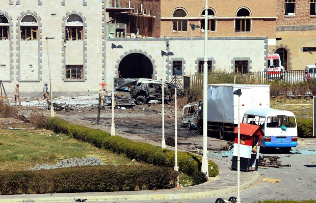 Car bomb at Defence Ministry in Sanaa, Yemen