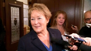 Pauline Marois called for diversity in schools