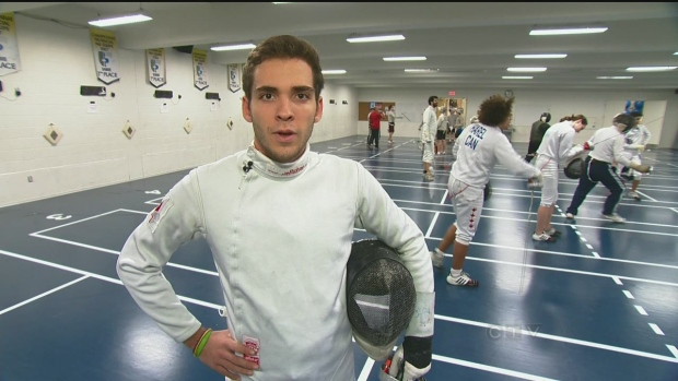 CTV Montreal: Randy's Rookies: Fencer shoots for O