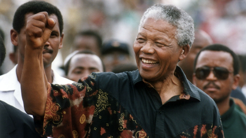 Nelson Mandela, the former South African president and Nobel Peace Prize laureate who waged a long and ultimately victorious struggle against apartheid, died on Thursday, Dec. 5, 2013. (The Star Tribune, Jerry Holt)
