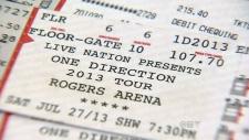Fake tickets