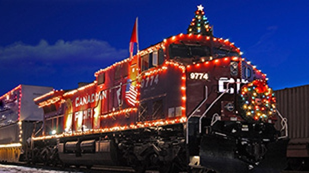 Cp Christmas Train Schedule 2019 CP Holiday Train keeps on chugging despite frigid temperatures