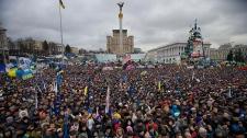 Independence Square in Kyiv, Ukraine, Dec. 8, 2013