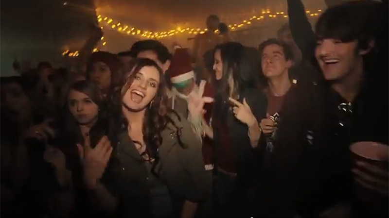 Rebecca Black, the artist behind the viral hit 'Friday', has released her latest music video, 'Saturday'. (rebecca / YouTube)