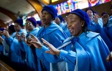 Day of prayer for Nelson mandela in Johannesburg