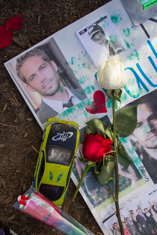 thousands attend memorial at paul walkers crash site
