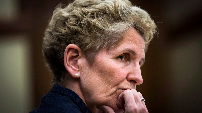 Ontario Premier Kathleen Wynne says she's sorry for the lasting pain and loss suffered by hundreds of former residents of a provincial institution for the developmentally disabled who have alleged abuse. (The Canadian Press)