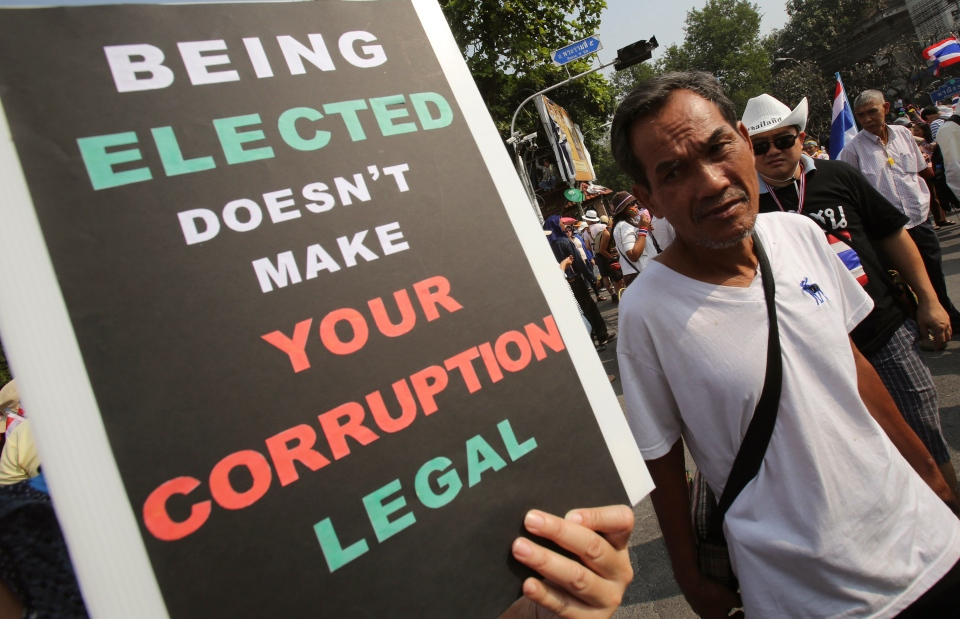 Thailand protests Feb. 2 elections