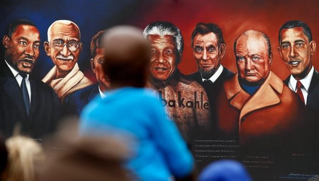 Nelson Mandela Funeral Obama