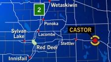 Castor, Alberta