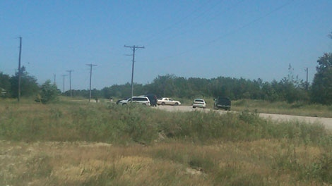 RCMP are on-scene at Sandy Bay First Nation.