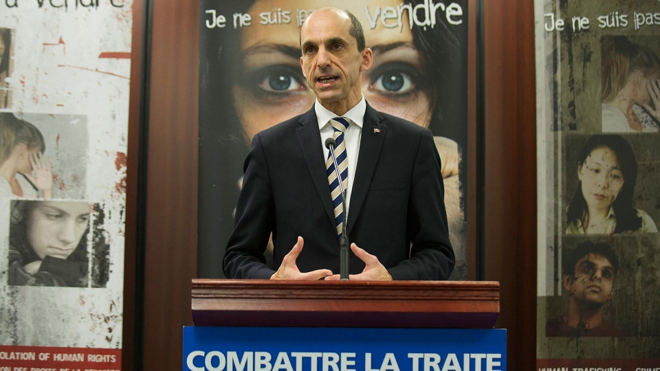 RCMP to combat human trafficking