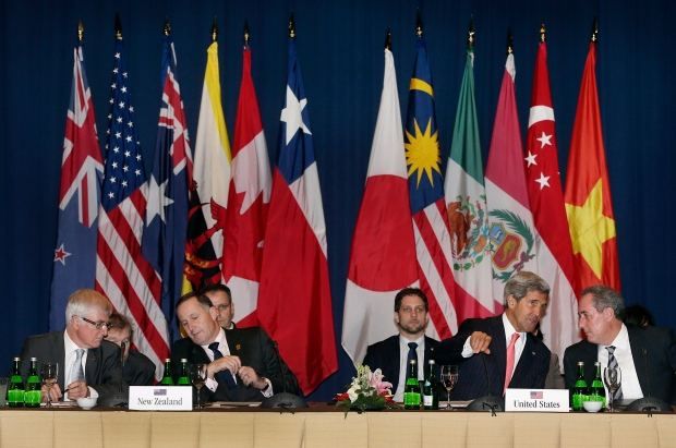 Trans-Pacific Partnership talks in Indonesia