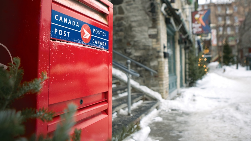 Wednesday is the last day for Canada Post to ship packages to reach their destinations in time for Christmas