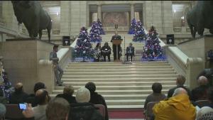 CTV Winnipeg: Manitoba protest targets Quebec bill