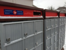 Canada Post community mail boxes