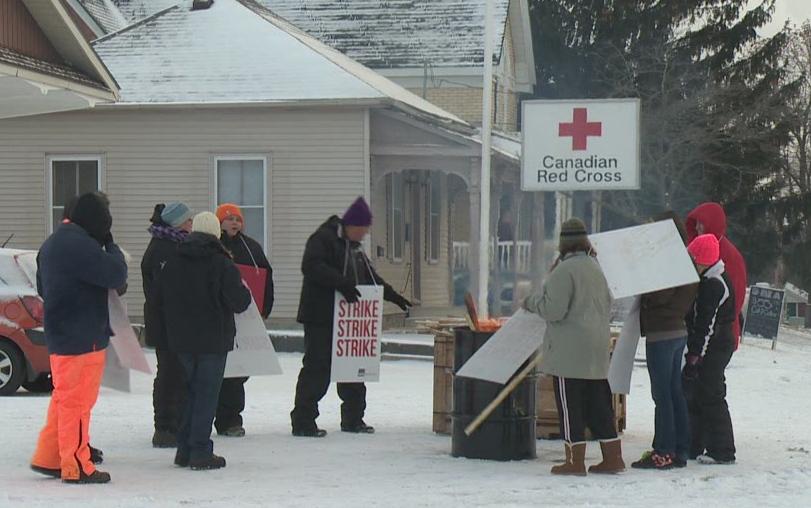 Red Cross Care Partners strike