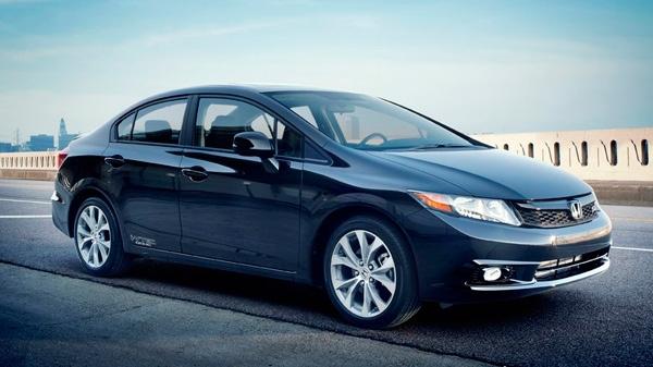 This undated image made available by Honda shows the 2012 Honda Civic Si Sedan. (AP / Honda)