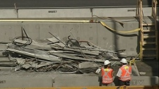 Laco Construction was doing maintenance work on the Viger Tunnel when it collapsed.