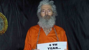 Retired FBI agent Robert Levinson is seen in this undated handout photo provided by the family after they received it in April 2011.