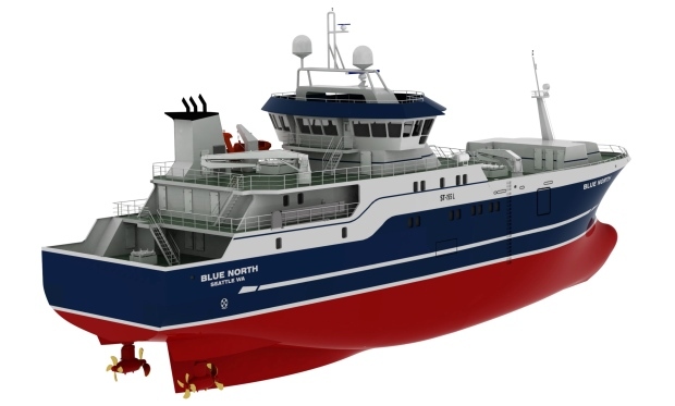 ... fishing boat design. (AP Photo/Courtesy Blue North Fisheries