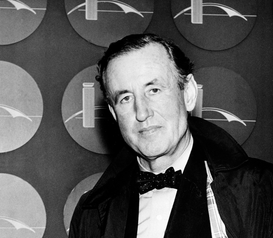This 1962 file photo shows Ian Lancaster Fleming, the best-selling British author and creator of a fiction character known as secret agent, James Bond. (AP)