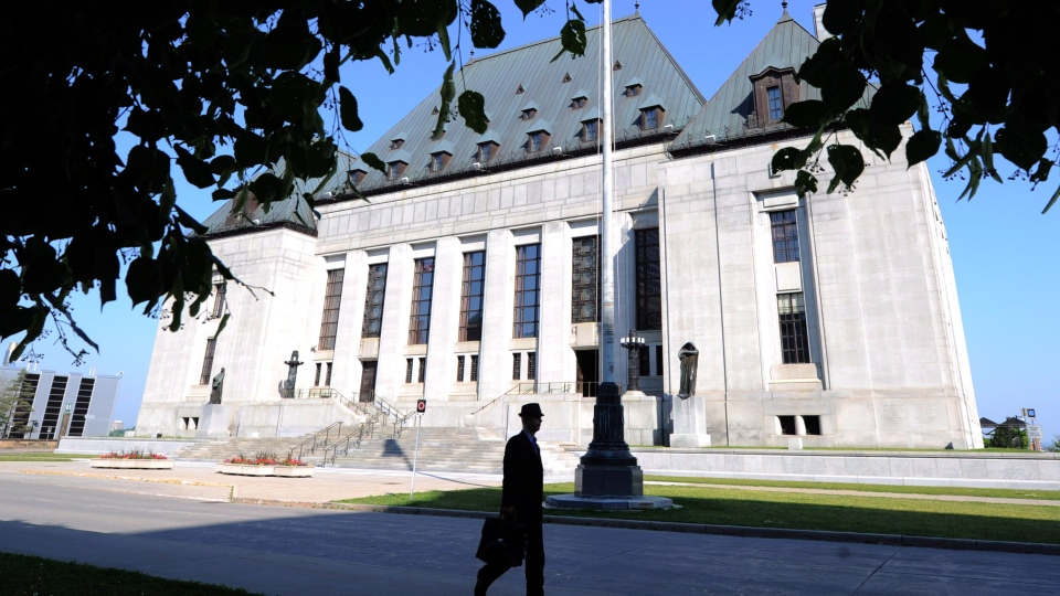 The Harper government and the Supreme Court of Canada are on another potential collision course today in a ruling on a child pornography case.