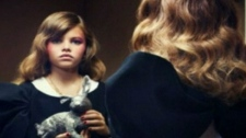 Thylane Loubry Blondeau, 10, who is seen in this month's issue of French Vogue, is sparking debating over the sexualization of young girls.