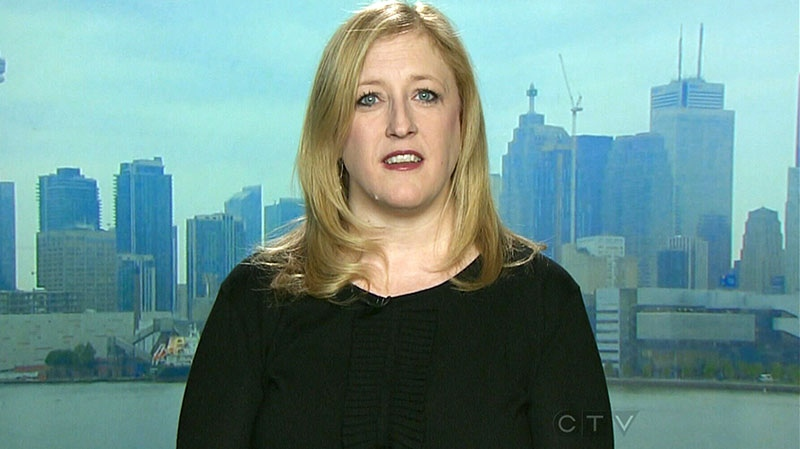 Transport Minister Lisa Raitt appears on CTV's Question Period on Sunday, Dec. 15, 2013.