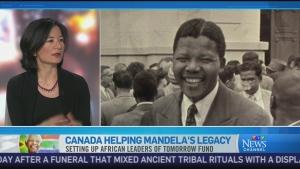 CTV News Channel: Canadians honouring Mandela